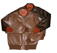 Hores leather jacket