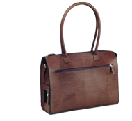 lizard leather bag