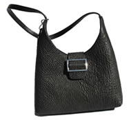 Sharkskin handbag
